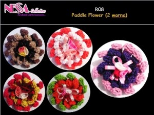 R08-Paddle Flower 2 warna
